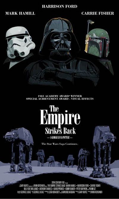 Empire Strikes Back alt poster
