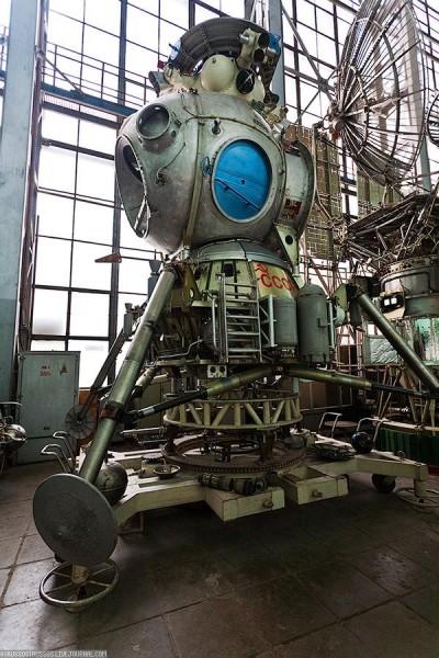 Soviet Moon Lander