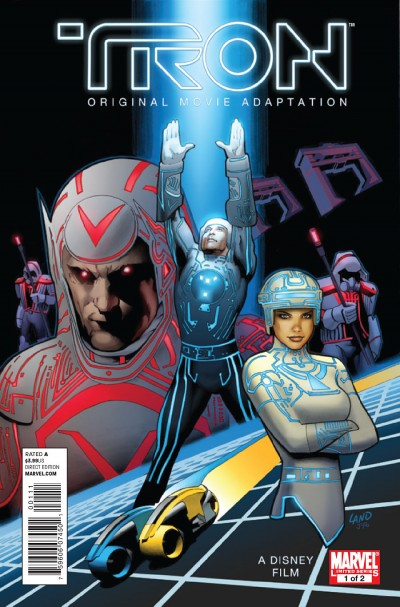 Tron: Original Movie Adaptation #1 - cover art