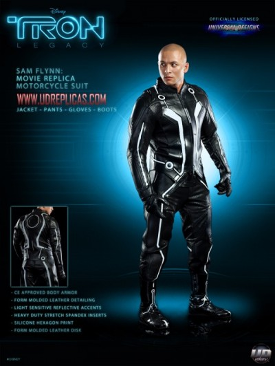 Tron motorcycle suit