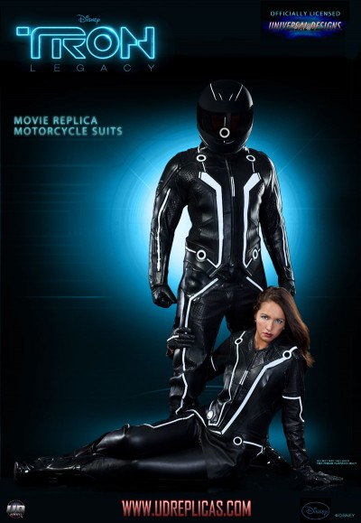 Tron Legacy motorcycle suits