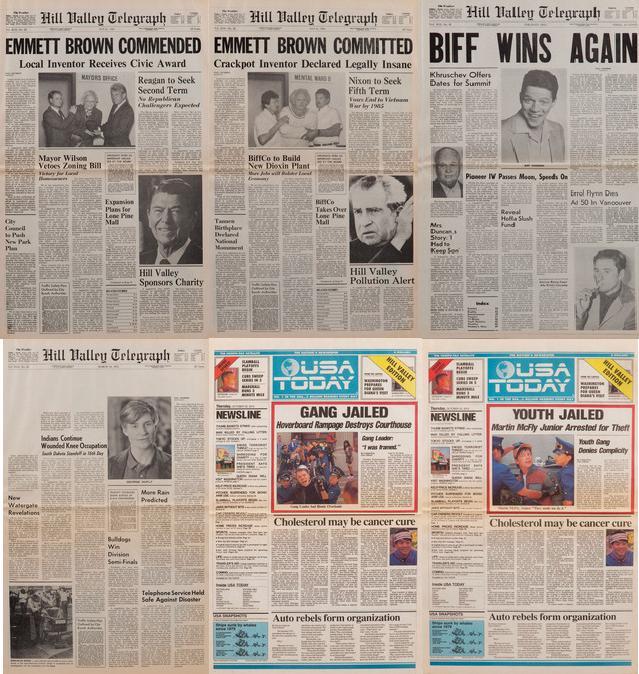 BttF newspapers
