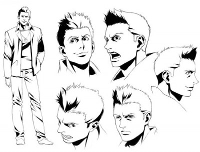 Supernatural The Animation Dean Character Sheet