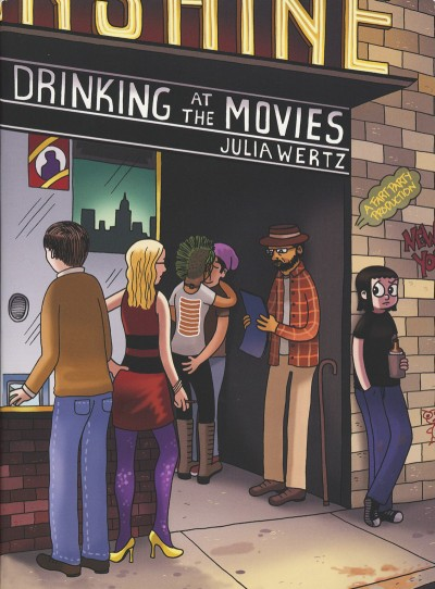 Drinking at the Movies by Julia Wertz - Cover Illustration