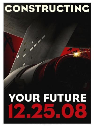 Star Trek Propaganda Posters - Constructing Future