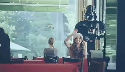 Darth Vader Docomo Ad 1