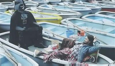 Darth Vader Docomo Ad 2