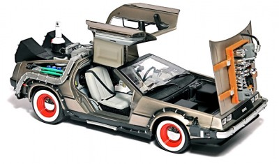 Back to the Future USB Hard Drive 1