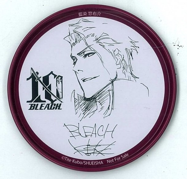 Bleach 10th anniversary coasters- aizen