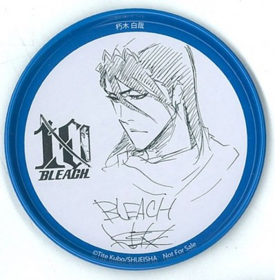 Bleach 10th anniversary coasters- byakuya