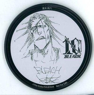 Bleach 10th anniversary coasters- kenpachi