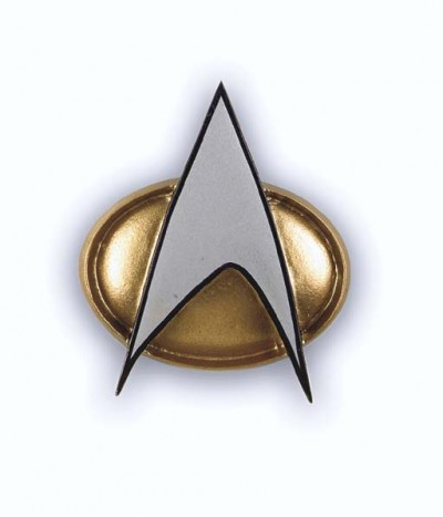 Starfleet Communicator Badge