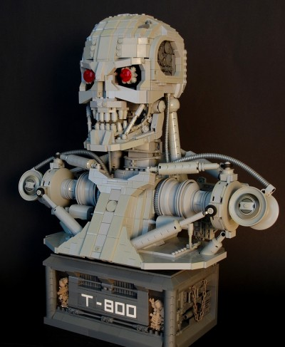 LEGO Terminator T-800 by Martin Latta