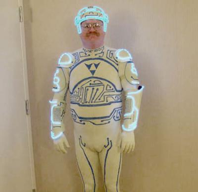 Tron Costume Guy