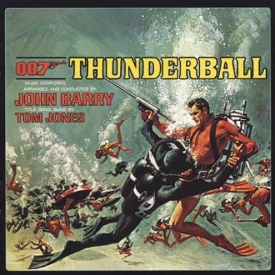 James Bond Thunderball soundtrack