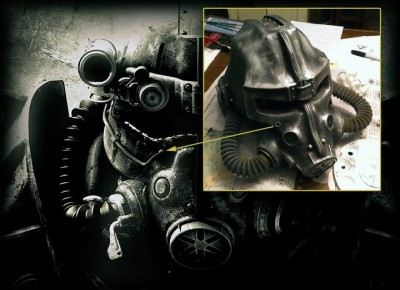 Fallout 3 Power Armor Helmet 3