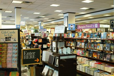 Barnes and Noble inside