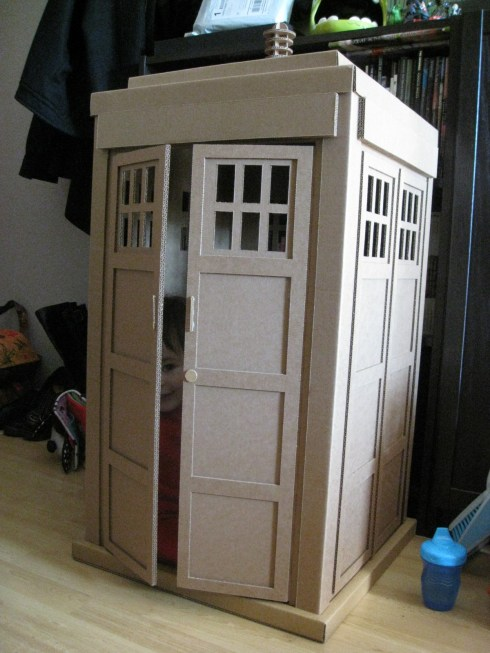 This Tardis Is Somewhat Smaller Than I Remember 187 Fanboy Com