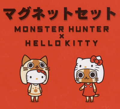 Hello Kitty Monster Hunter Masks