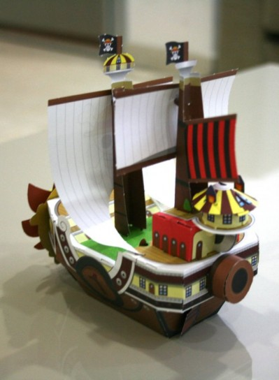 One Piece paper Pirate Ship