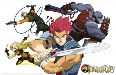 Thundercats 2011 official art