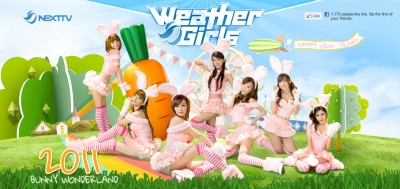 The Taiwanese Weather Bunny Girls
