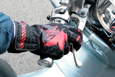 Evangelion NERV Biker Gloves 2
