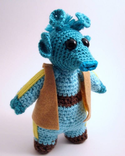 Greedo Crocheted