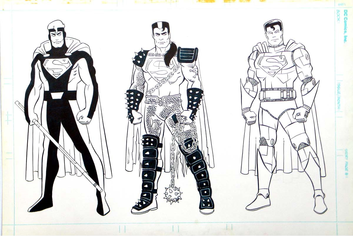 Line Art Figures : Mind boggling unreleased s dc superhero action figures fanboy