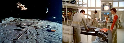 Moonbase Alpha from Space:1999