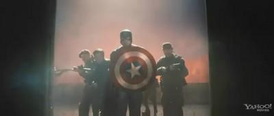 Captain America Superbowl Spot 3