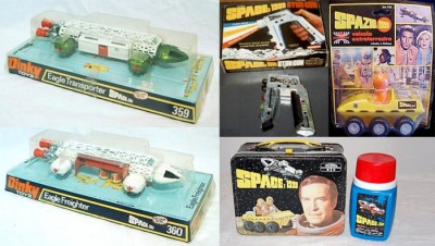 Space:1999 toys