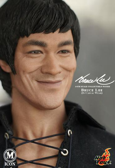 Bruce Lee Hot Toys casual figure 2
