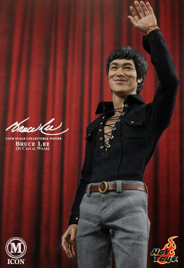 Bruce Lee Hot Toys casual figure 1