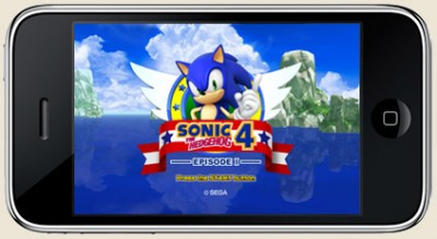 Sonic 4 for iPhone