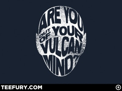 TeeFury Vulcan Mind t-shirt