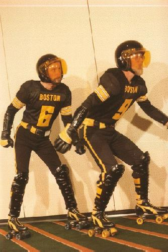 Rollerball retro cosplay
