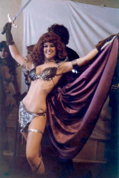 Red Sonja retro cosplay