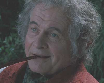 Ian Holm as Bilbo