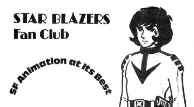 Star Blazers Fan Club flyer edit