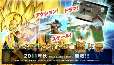 Dragon Ball AGE 2011 screens