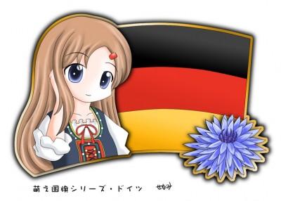 Germany Moe character
