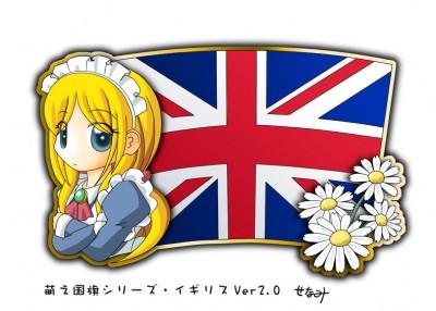 Great Britain Moe character