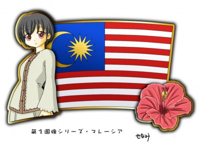 Malaysia Moe Character