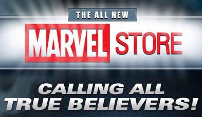 Marvel Store Logo