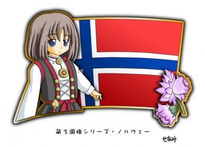 Norway Moe Character