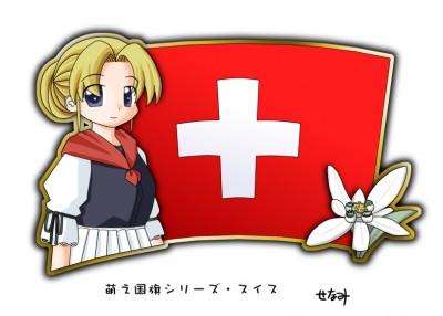 Swiss Moe character
