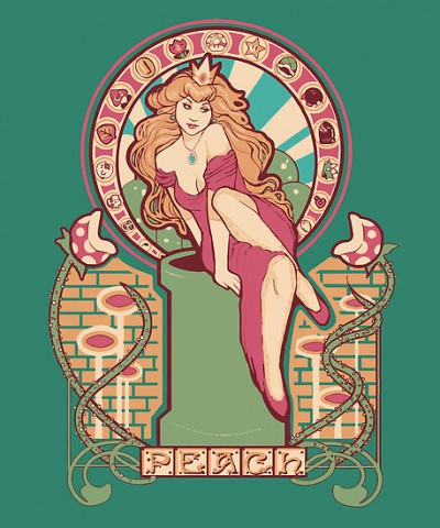 Princess Peach nouveau