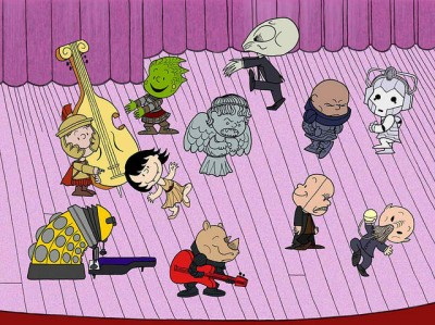 Dr Who Peanuts