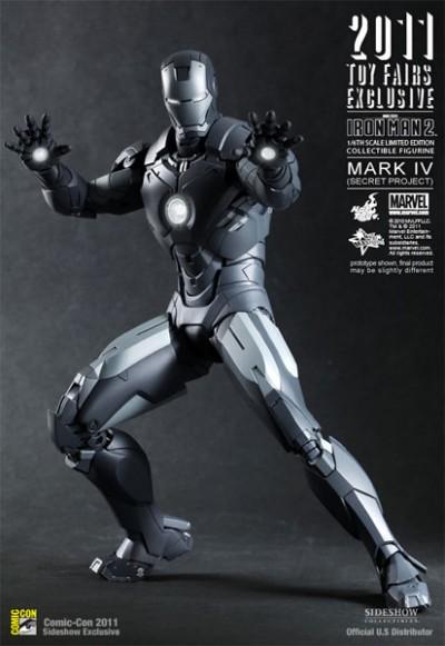 Hot Toys Iron Man Mark IV Secret Project Figure 2